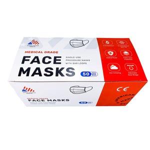 Procedural Earloop Face Masks Level 3