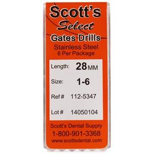Gates Glidden Drills Scott's Select