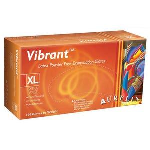 Vibrant Latex PF Gloves