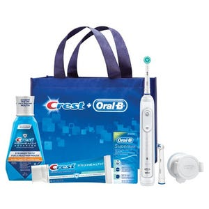 Oral-B Ortho Essentials Genius Power Toothbrush Bundle