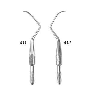 411 / 412 Cone Socket Tips (Carbon Steel)