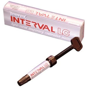 Interval LC Temporary Filling Material