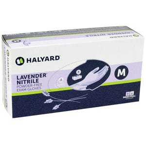Lavender Nitrile PF Gloves