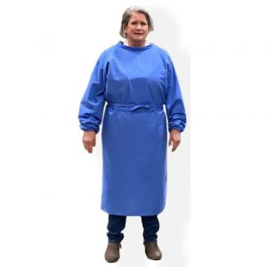 Reusable Isolation Gown Blue