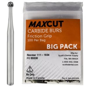 Round FG Carbide Burs MaXcut