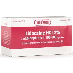 Lidocaine 2% Cooke-Waite