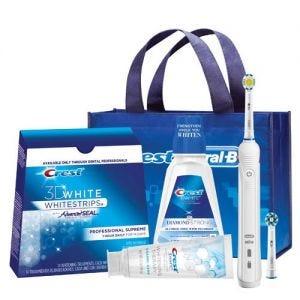Oral-B Whitening Pro Power Toothbrush Bundle
