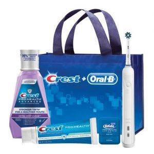Oral-B Daily Clean 1000 Power Toothbrush Bundle