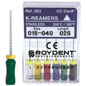 K-Reamers 25mm Roydent