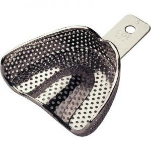 Coe Nickel-Plated Perforated Impression Trays