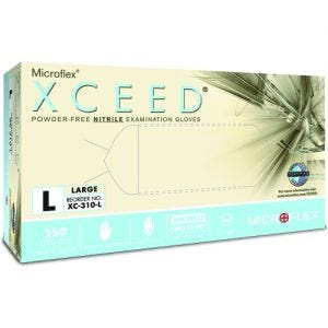 Xceed Nitrile PF Gloves