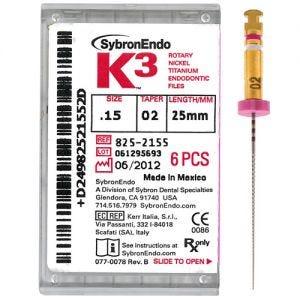 K3 NiTi Files 30mm