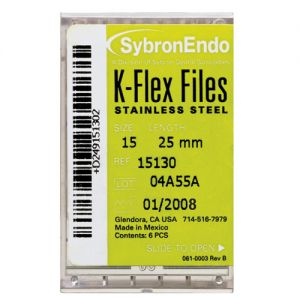 K-Flex Files 21mm Kerr Endodontics