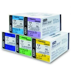 Perma Sharp Polypropylene Sutures