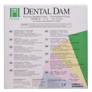 Hygenic Convenience Pack Dental Dam