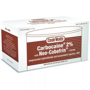 Carbocaine 2% w/ Neo-Cobefrin