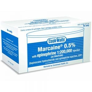 Marcaine 0.5% Cooke-Waite