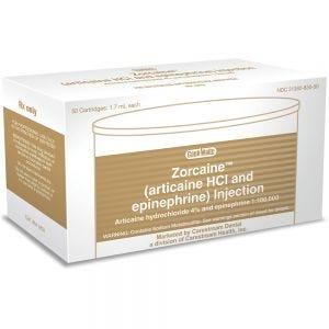 Zorcaine Articaine 4% Cooke-Waite