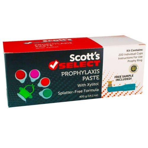Prophy Paste Scott's Select - Prophy Pastes - Preventives