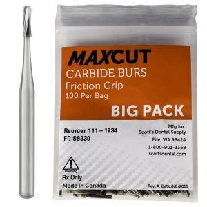 Amalgam Prep FG Carbide Burs MaXcut