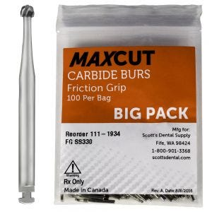 RA Latch Carbide Burs MaXcut