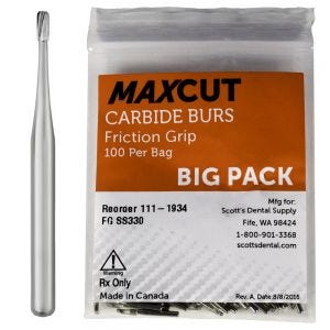 Pear Shape FG Carbide Burs MaXcut
