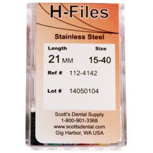 Hedstrom Files 21mm Scott's Select