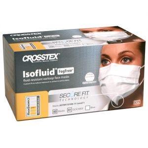 SecureFit Isofluid Fog-Free Earloop Face Masks