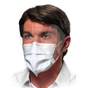 Isofluid Fog-Free Face Masks w/ Visor