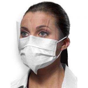 SecureFit Isofluid Fog-Free Face Masks w/ Visor