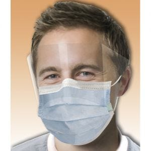 Ultra Fog-Free Masks w/ Shield
