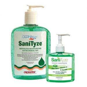 SaniTyze Antimicrobial Waterless Hand Gel