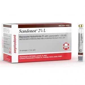 Scandonest 2% w/ Levonordefrin