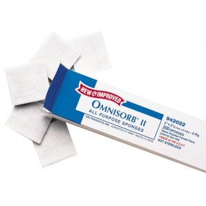 Omnisorb II Non-Woven Sponges