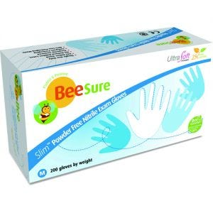BeeSure Slim Nitrile PF Gloves