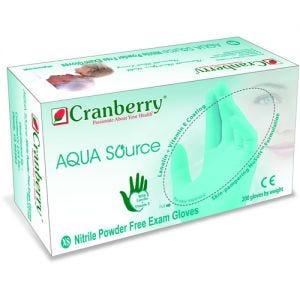 Aqua Source Nitrile PF Gloves