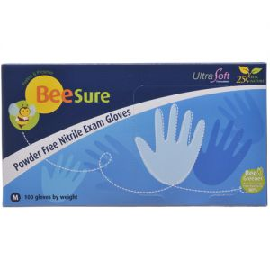 BeeSure Nitrile PF Gloves