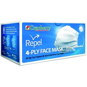Repel 4-Ply Face Masks