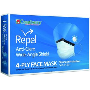 Repel Face Masks w/ Shield
