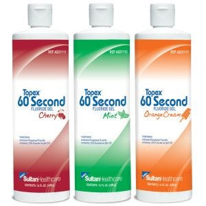 Topex 60 Second Fluoride Gel