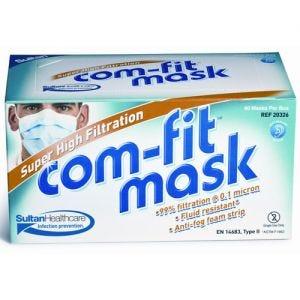 Com-Fit Super High Filtration Face Masks