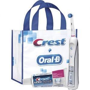 Oral-B Sensitivity Genius Power Toothbrush Bundle
