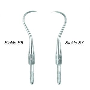 Sickle Scaler Cone Socket Tips (Stainless Steel)