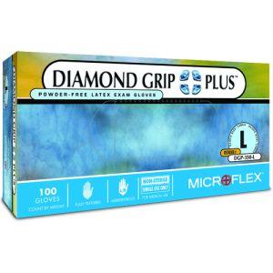 Diamond Grip Plus Latex PF Gloves