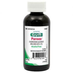 GUM Paroex CHX Alcohol Free Rinse