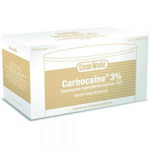 Carbocaine 3% Plain Cooke-Waite