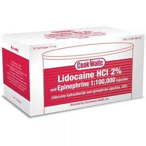 Lidocaine 2% Cooke-Waite