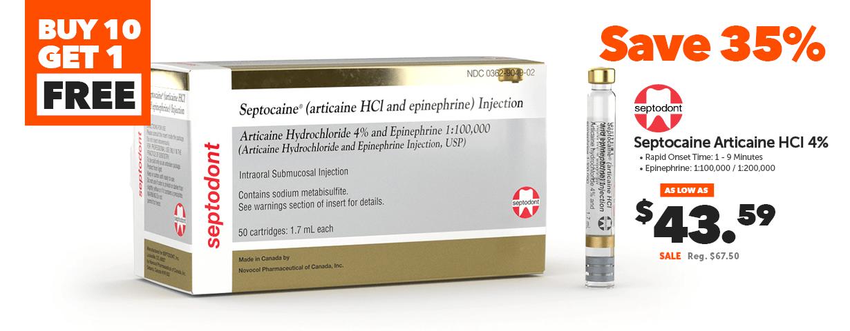Septodont - Septocaine Articaine